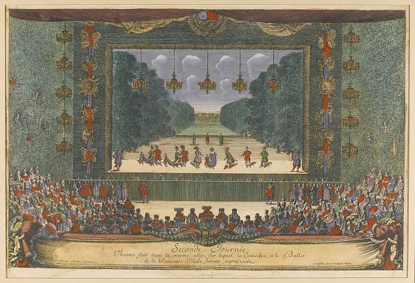Baroque Style「Ballet La Princesse d'Élide The Princess of Elis) by Molière and Lully in Versailles, 1664, 1673」:写真・画像(0)[壁紙.com]