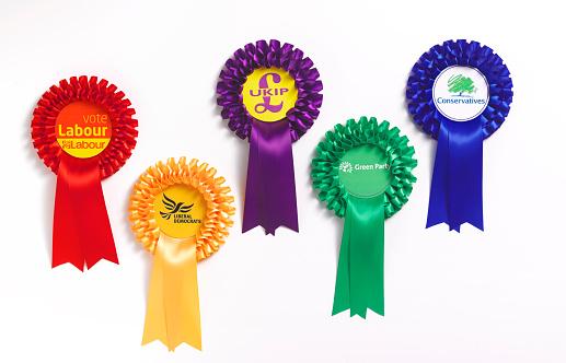 Political Party「Political party rosettes」:スマホ壁紙(19)