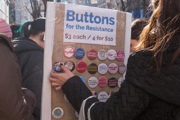 Columbus Circle「Women's March NYC 2018」:写真・画像(17)[壁紙.com]