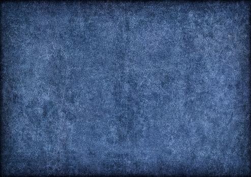 Rectangle「Hi-Res Marine Blue Pig Leather Suede Vignette Grunge Texture」:スマホ壁紙(14)
