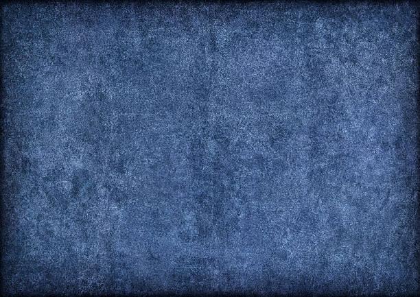 Hi-Res Marine Blue Pig Leather Suede Vignette Grunge Texture:スマホ壁紙(壁紙.com)