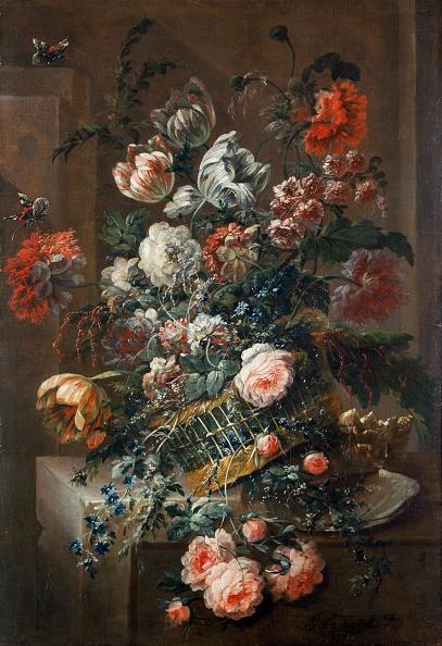 Rose - Flower「Flower Piece With Variegated Tulips,」:写真・画像(14)[壁紙.com]