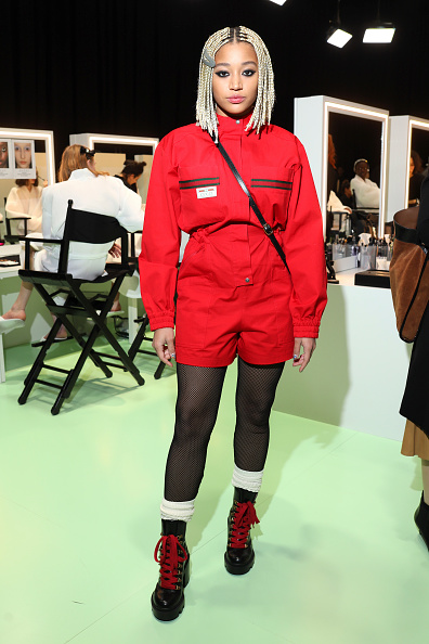 Red Shorts「Gucci - Arrivals at Backstage - Milan Fashion Week Fall/Winter 2020/21」:写真・画像(17)[壁紙.com]