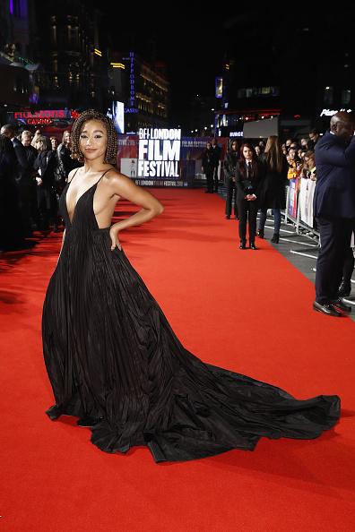 "Amandla Stenberg「""The Hate U Give"" European Premiere -  62nd BFI London Film Festival」:写真・画像(8)[壁紙.com]"