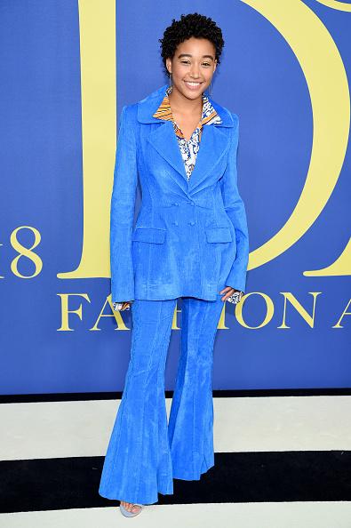 Amandla Stenberg「2018 CFDA Fashion Awards - Arrivals」:写真・画像(4)[壁紙.com]
