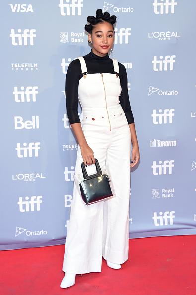 "Amandla Stenberg「2018 Toronto International Film Festival - ""The Hate U Give"" Press Conference」:写真・画像(10)[壁紙.com]"