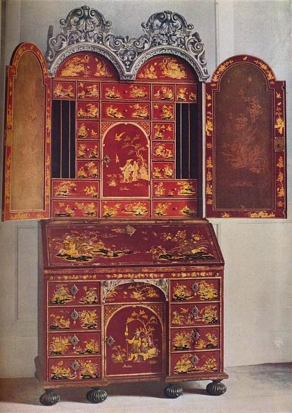 Antique「'A Red Lacquer Cabinet', c1685, (1936)」:写真・画像(17)[壁紙.com]