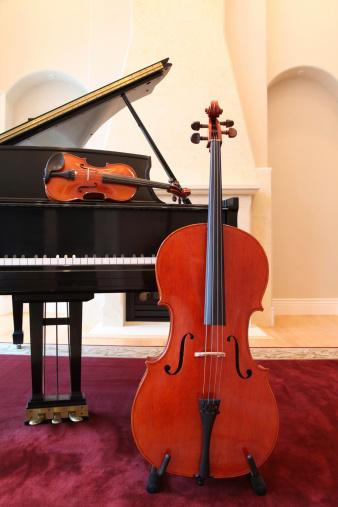 Violin「Cello, Violin and Piano Trio」:スマホ壁紙(6)