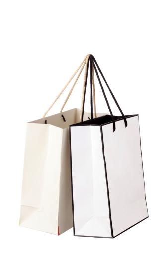 Shopping Bag「White shopping bags」:スマホ壁紙(19)