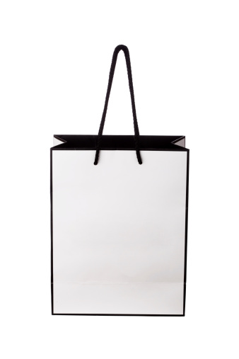 Shopping Bag「White shopping bag」:スマホ壁紙(10)