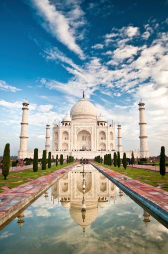 Sepia Toned「Taj Mahal」:スマホ壁紙(7)