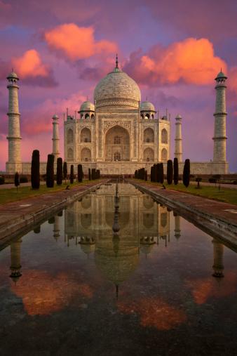 Indian Culture「Taj Mahal」:スマホ壁紙(14)