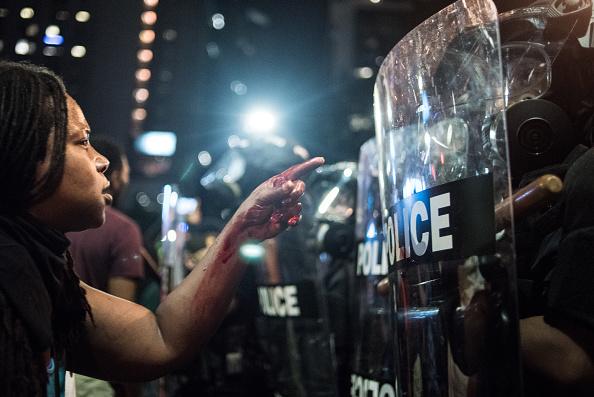 Black Lives Matter「Protests Break Out In Charlotte After Police Shooting」:写真・画像(15)[壁紙.com]