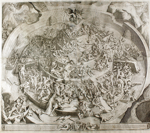 Hell「Purgatorio. Illustration To The Divine Comedy By Dante Alighieri (After Drawing By Bernardino Poccet」:写真・画像(11)[壁紙.com]