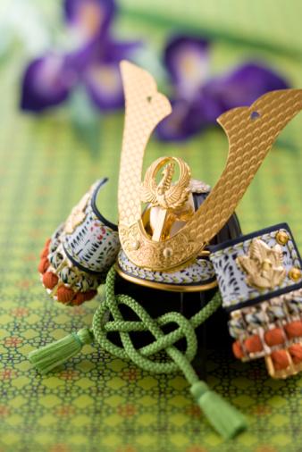 こどもの日「Warrior helmet's ornament」:スマホ壁紙(8)