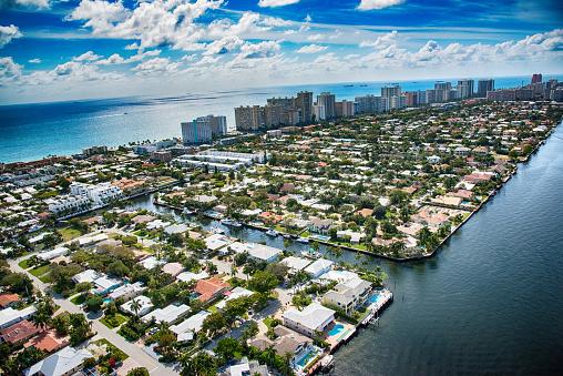 Pompano Beach「Pompano Beach and Fort Lauderdale Aerial」:スマホ壁紙(18)