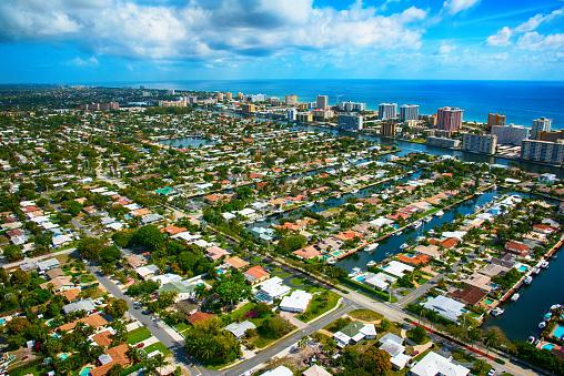 Pompano Beach「Pompano Beach Florida Aerial View」:スマホ壁紙(18)