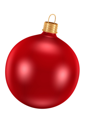 Sphere「Red Ornament for Christmas Tree」:スマホ壁紙(12)