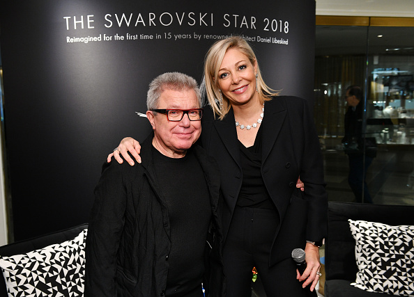 Bryan Bedder「Nadja Swarovski And Daniel Libeskind Unveil The 2018 Swarovski Star In Rockefeller Center」:写真・画像(13)[壁紙.com]