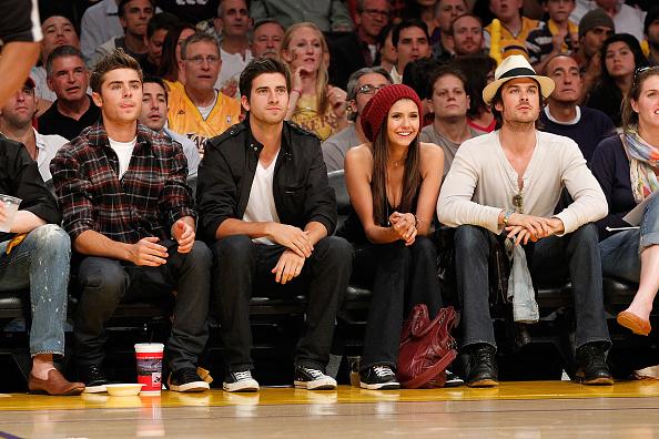 バスケットボール「Celebrities At The Lakers Game」:写真・画像(13)[壁紙.com]