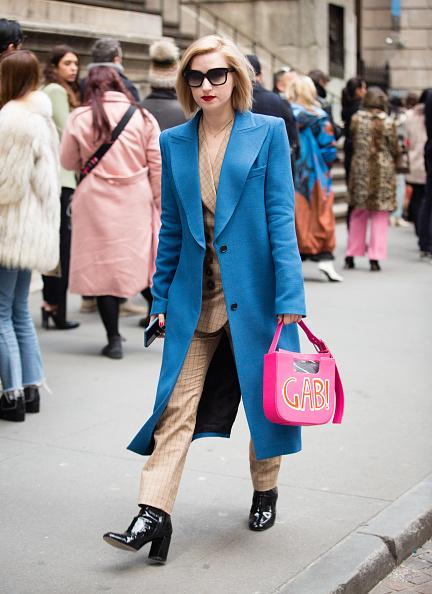 ストリートスナップ「Street Style - New York Fashion Week February 2019 - Day 4」:写真・画像(18)[壁紙.com]
