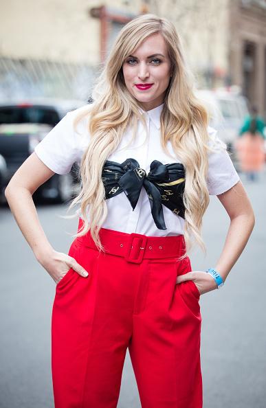 ストリートスナップ「Street Style - New York Fashion Week February 2019 - Day 4」:写真・画像(5)[壁紙.com]