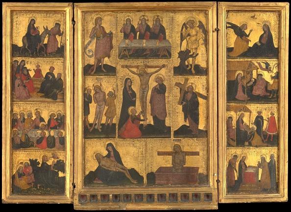 Gold Leaf「The Life Of Christ. Creator: Attributed To Franceschino Zavattari (Italian」:写真・画像(11)[壁紙.com]