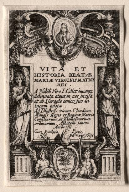 The Life Of The Virgin: Frontispiece. Creator: Jacques Callot (French:ニュース(壁紙.com)