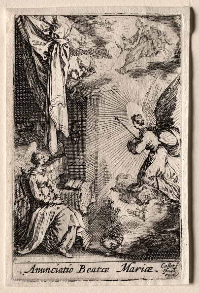 Etching「The Life Of The Virgin: The Annunciation. Creator: Jacques Callot (French」:写真・画像(11)[壁紙.com]