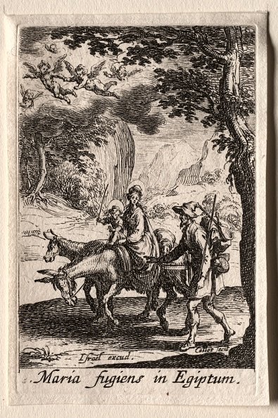 Etching「The Life Of The Virgin: The Flight Into Egypt. Creator: Jacques Callot (French」:写真・画像(16)[壁紙.com]