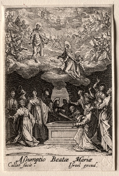 Etching「The Life Of The Virgin: The Assumption Of The Virgin. Creator: Jacques Callot (French」:写真・画像(12)[壁紙.com]
