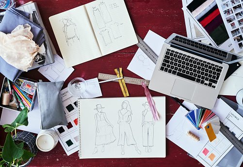 New Business「The life of a fashion designer」:スマホ壁紙(3)