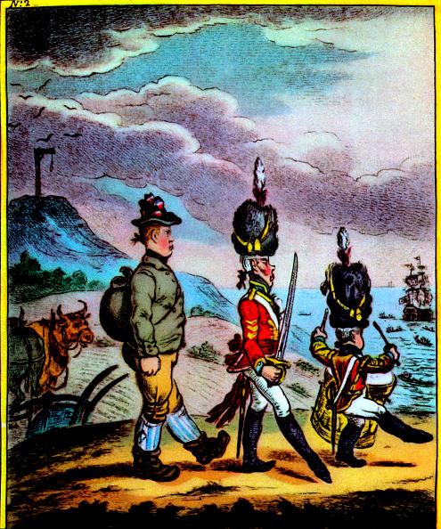 Ox Cart「The Life of William Cobbett, 1809 - illustration」:写真・画像(3)[壁紙.com]