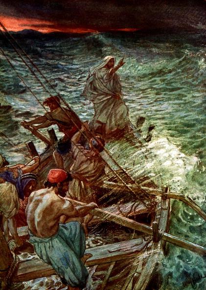 Miracle「Jesus calms the storm」:写真・画像(2)[壁紙.com]
