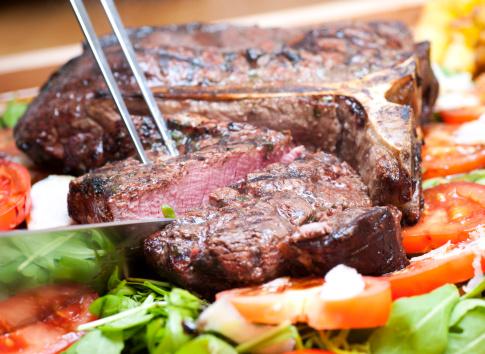 T-bone Steak「t-bone steak, medium」:スマホ壁紙(10)