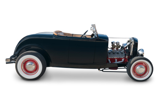 Hot Rod Car「Ford Roadster from 1932」:スマホ壁紙(11)