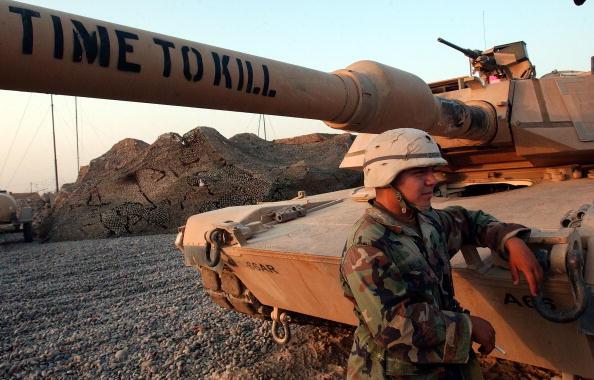Samarra - Iraq「U.S. 4th Infantry Division Patrols In Samarra」:写真・画像(5)[壁紙.com]