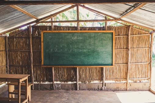 Developing Countries「Blackboard in a rural African school.」:スマホ壁紙(6)