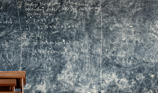 Pointing「blackboard with math problem in classroom, Africa」:スマホ壁紙(13)