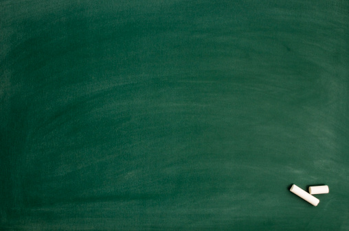 Green Color「Blackboard with chalk」:スマホ壁紙(7)
