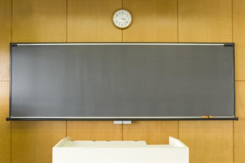 Board Eraser「Blackboard in classroom」:スマホ壁紙(18)