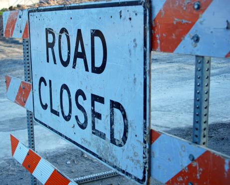 Rectangle「Road Closed Sign」:スマホ壁紙(11)