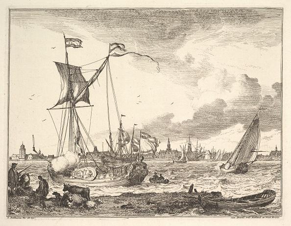 Etching「Harbor Scene Creator: Ludolf Backhuysen I」:写真・画像(16)[壁紙.com]