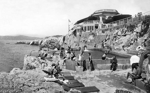 Hotel Du Cap Eden Roc「The pavilion Eden Roc on Antibes cape (French Riviera), postcard, 1933」:写真・画像(0)[壁紙.com]