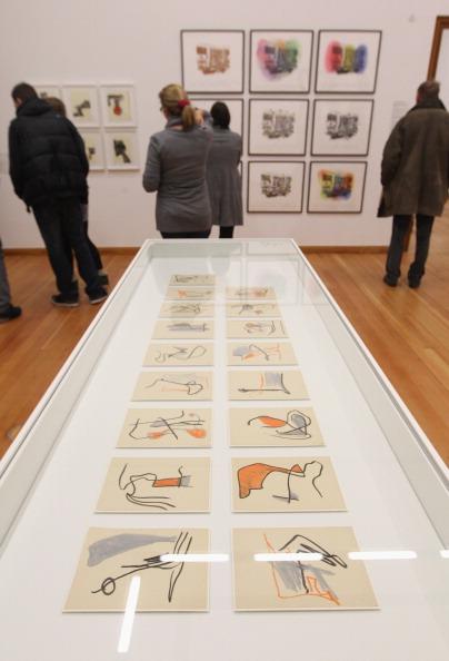 クレヨン「Kompass Exhibition Of MoMA Drawings」:写真・画像(19)[壁紙.com]