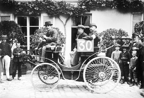Auto Racing「1894 Paris to Rouen race」:写真・画像(7)[壁紙.com]