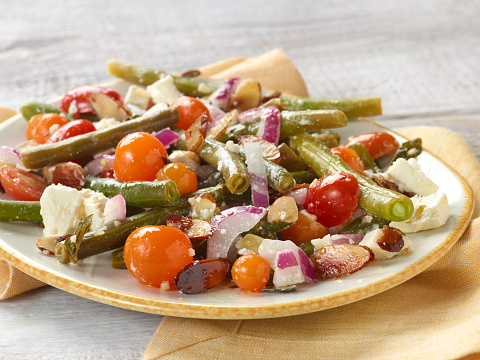 アーモンド「Green Bean Toasted Almond Salad」:スマホ壁紙(14)