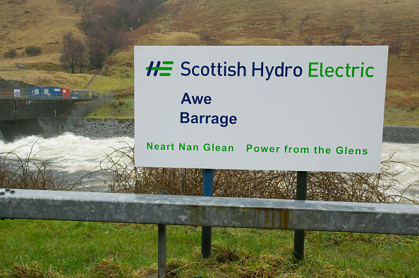 Greenhouse Gas「The Awe Barrage, hydro electric power station, Scotland, UK」:写真・画像(2)[壁紙.com]