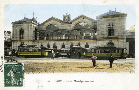 City Life「Gare Montparnasse, Paris, c. 1900」:写真・画像(9)[壁紙.com]