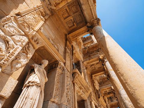 Greco-Roman Style「Celsus library in Ephesus, Turkey」:スマホ壁紙(5)